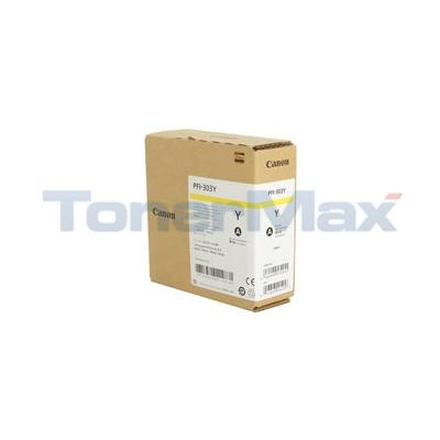 CANON IPF820 PFI-303Y INK TANK YELLOW 330ML